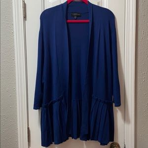 🍂Lane Bryant🍂3/4 sleeve navy blue Cardigan
